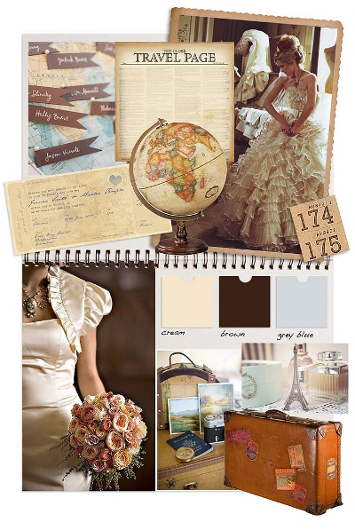 Vintage Wedding on Wedding Theme  Vintage Travel    Diy Weddings   Craftgossip Com