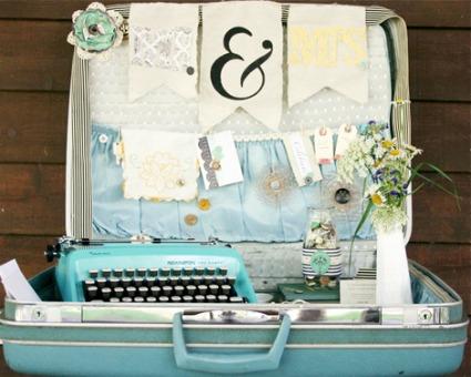 Craft Ideas Vintage Suitcase on 2011 June    Diy Weddings   Craftgossip Com