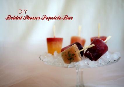 DIY Bridal Shower Popsicle Bar