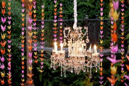 Wedding Trends Hanging Wedding Decor