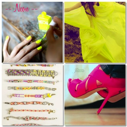 For the bride who loves a bold pop of color this round up of neon wedding