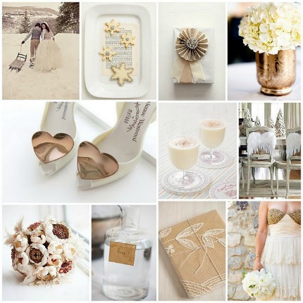 monday moods shimmer snow � diy weddings