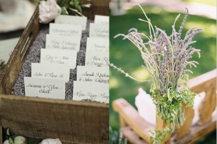 Just A Few Ideas For Using Dried Lavender At Your Wedding