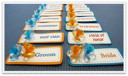 Craft Ideas  Tags on To Meet And Greet Your Wedding Party Members With Cute Name Tags