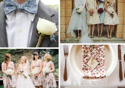 Wedding Trend: Prints via Southbound Bride