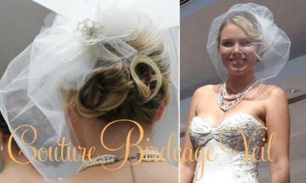 Birdcage Veil Tutorial via Polka Dot Bride