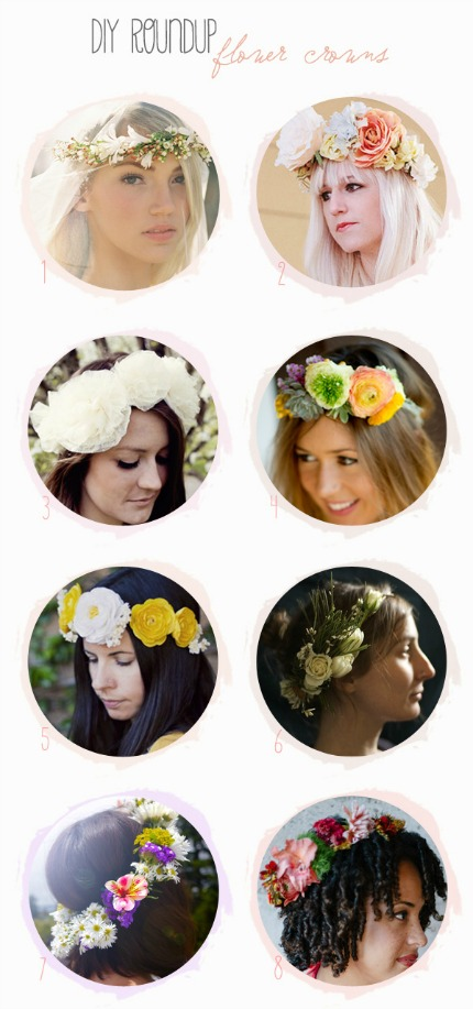 Flower Crown Tutorials Belle & Chic