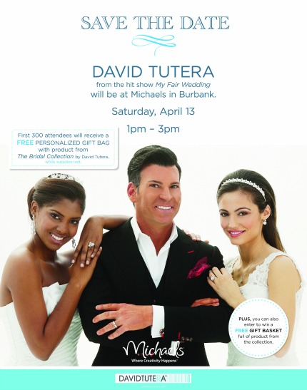 Meet David Tutera at Michaels Store in Burbank, CA