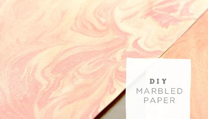 Marbled Paper via Green Wedding Shoes