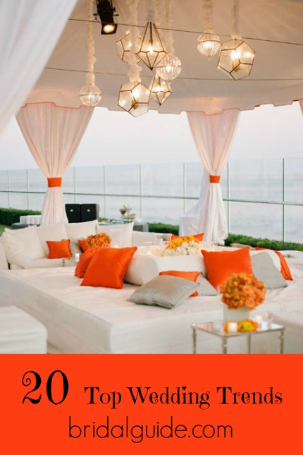 Wedding Trend Lighting Photo by Elizabeth Messina via Bridal Guide