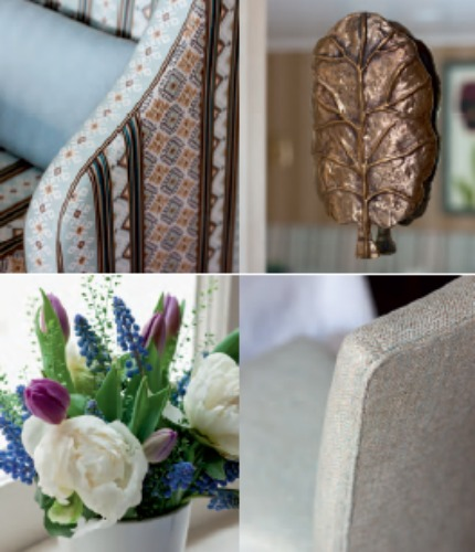 Nina Campbell Interiors Page A Hotel of Comforts Details