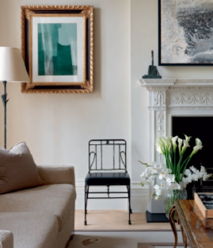 Nina Campbell Interiors Peace and Light for a Collector