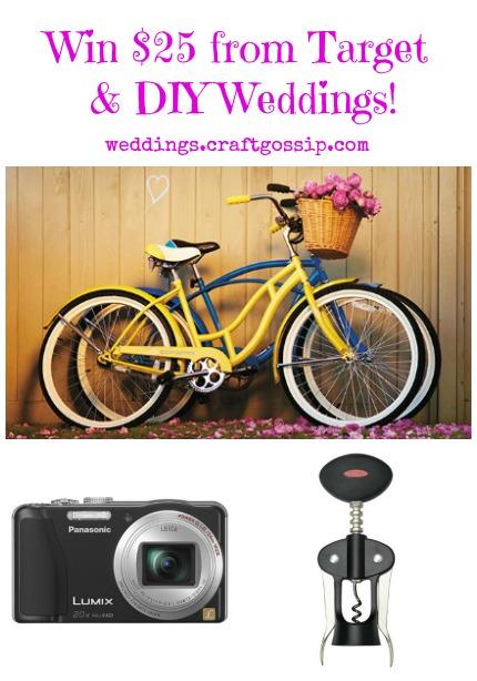 Target Wedding Giveaway via weddings.craftgossip.com