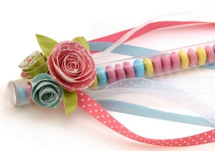 Test Tube Wedding Favors via Pebbles in My Pocket