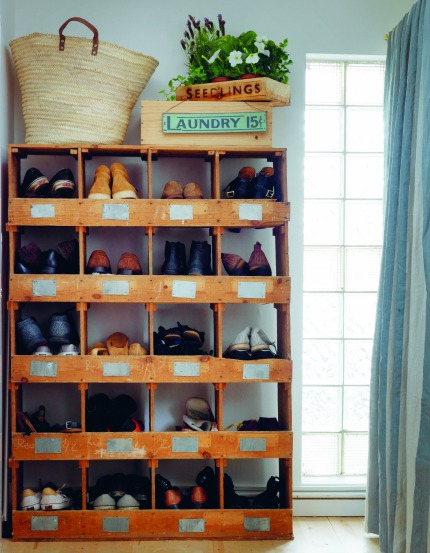 Living Life Beautifully by Christina Strutt Compartmented Shelves