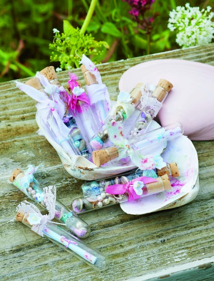 Seaside Tinkered Treasures Message in a Bottle