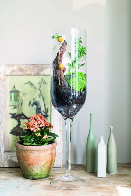 The House Gardener by Isabelle Palmer Tall Wine Glasses