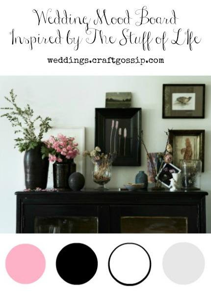 Wedding Mood Board Inspired by The Stuff of Life via weddings.craftgossip.com