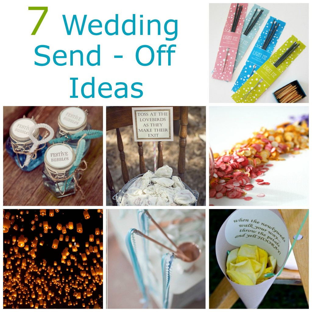 Best Diy Wedding: 7 Wedding Send-Off Ideas