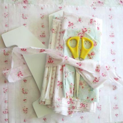 Love Letter Tutorial Supplies by Elyse Major via weddings.craftgossip.com