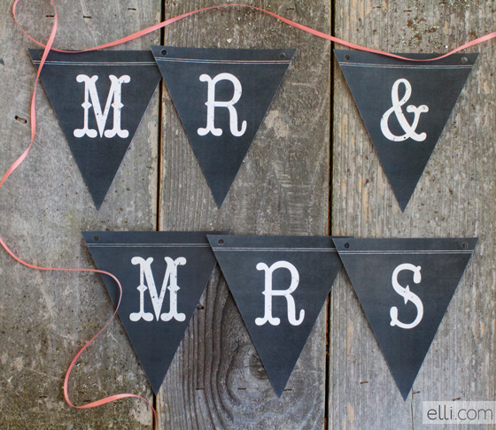 mr-Mrs-Banner-free-printable
