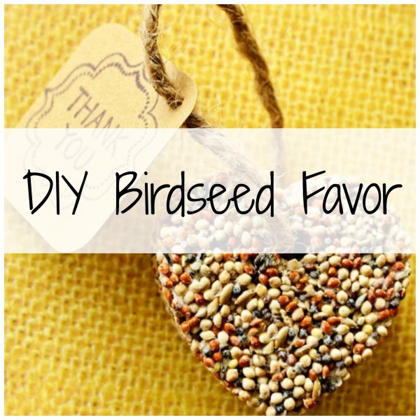 Make Your Own Wedding Favor Ideas: Make Your Own Birdseed Favors