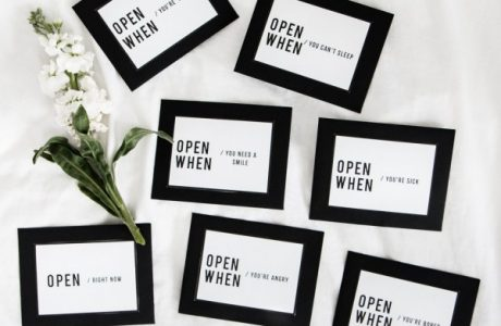 Free Printables – Romantic Open… When Envelopes