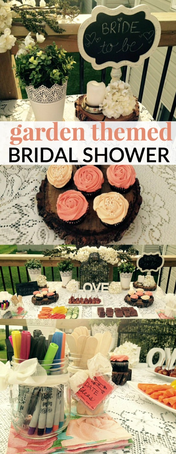 DIY Garden Themed Bridal Shower Party